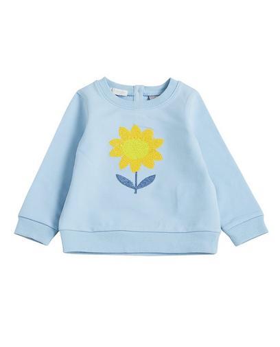 IJsblauwe sweater